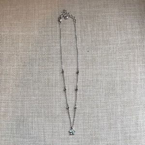 Brighton Jewelry - Brighton Blue Flower Reversible Necklace
